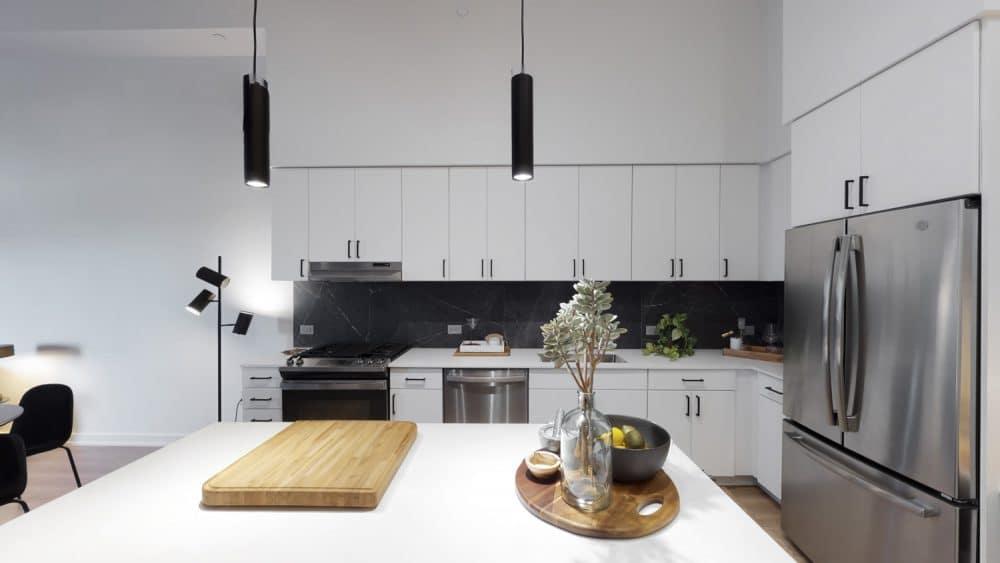 kitchen in houston apartment