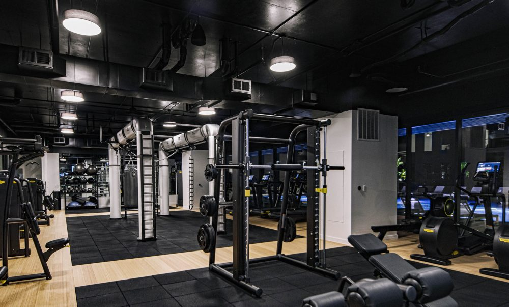 gym in houston apartment building