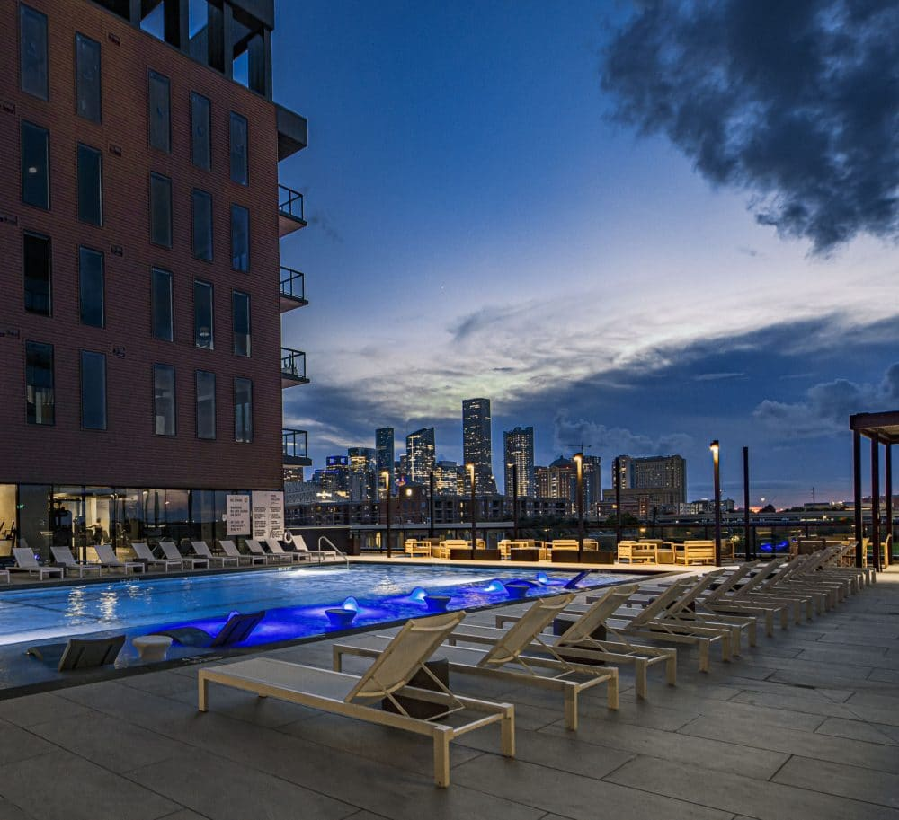 Forth Evening Pool Houston